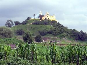 Cholula Pyramid 3
